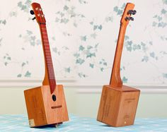 Cigar box ukulele - how cook.  All sorts of 'upcycled' musical instruments