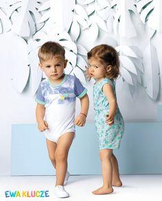 EWA KLUCZE, kolekcja SUMMER TIME, body, kombinezon, wiosna lato 2017, ubranka dla dzieci, EWA KLUCZE, SUMMER TIME collection, baby boy bodysuit, baby girl romper, spring summer 2017