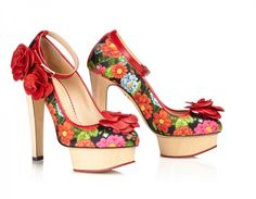 Charlotte Olympia - Flora - Pre Fall collection