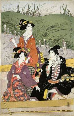 UKIYO - E.....BY EIZAN......PARTAGE OF ARTIST SALON OF JAPAN.......ON FACEBOOK.......