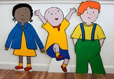20 x 30 2.5 feet Caillou Birthday  Caillou by APropHerParty, $45.00