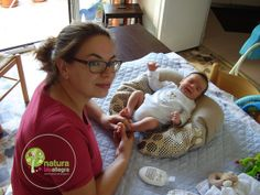 Cuscino per massaggio bebe in pula di farro