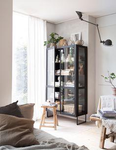 my scandinavian home: My home: Say hello To My New Skovby Glass Cabinet!