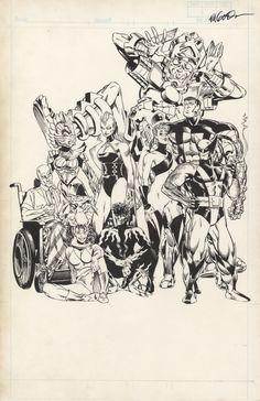 X-Men by Michael Golden