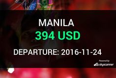 Flight from Seattle to Manila by Avia #travel #ticket #flight #deals   BOOK NOW >>>
