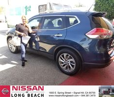 Congratulations Judith on your #Nissan #Rogue from Jose Lopez at Nissan of Long Beach!  https://deliverymaxx.com/DealerReviews.aspx?DealerCode=RHAF  #NissanofLongBeach