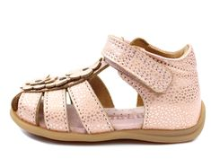a0d97f3db7ff Bisgaard sandal blush with flowers