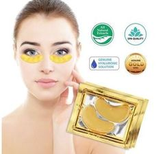 Slow Down Collagen and Elastin Depletion. Collagen and other minerals present within the eye mask, speed-up cell & collagen rejuvenation. you will get 10 pairs eye mask in this lot. - Firms and Tighten Skin. Gold Eye Mask, Gold Eyes, Eye Masks, Natural Blackhead Remover, Black Charcoal Mask, Vaseline Eyelashes, Collagen Powder, Eye Wrinkle