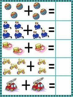Bonitas láminas para aprender a sumar. Mírame y aprenderás en Facebook Math Addition Worksheets, Kindergarten Math Worksheets, Math Literacy, Homeschool Math, Math Classroom, Toddler Learning Activities, Math Activities, Kindergarten Special Education, English Grammar For Kids