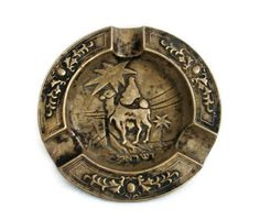 Vintage metal Camel Decorative Object.