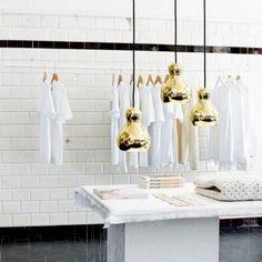 Calabash P1 valaisin, kulta | Riippuvalaisimet | Valaisimet | Finnish Design Shop