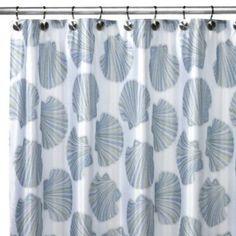 Croscill® Mosaic Shells Shower Curtain - BedBathandBeyond.com
