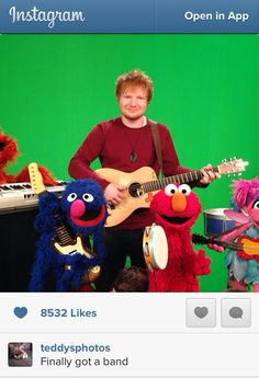 ED ILL BE YOUR BAND ILL CLAP MY HANDS OR SOMETHING. CLARINET? WOULD THAT WORK??