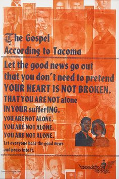 the gospel according to Tacoma