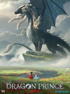 Dragon Art Triptych: Sol Regem, Avizandum, and Zubeia – The Dragon Prince Rayla Dragon Prince, Prince Dragon, Dragon Princess, Fantasy Dragon, Fantasy Art, Got Dragons, Dragon Artwork, Beautiful Dragon, Wings Of Fire