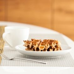 Whole Wheat Buttermilk Waffles - Whole wheat pastry flour gives these ...