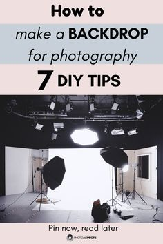 How to Make a Backdrop for Photography - 7 DIY Tips - You can take those awesome holiday photos without spending hundreds of dollars on photo backdrops. Photography Essentials, Photography Articles, Photography Basics, Photography Tips For Beginners, Photography Lessons, Photography Awards, Photography Projects, Photography Backdrops, Outdoor Photography