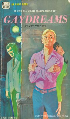 Gay dreams (1968) / Jay Vickery + Adult Book AB437 | Gay On The Range [http://www.gayontherange.com/] | #gayerio