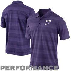 Nike TCU Horned Frogs 2013 Dri-FIT Preseason Performance Polo - Purple