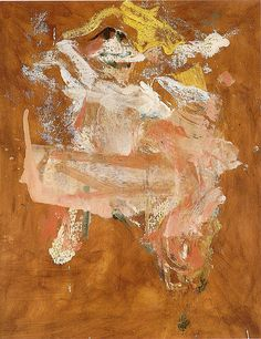 Pink Lady - Willem de Kooning - The Athenaeum Willem De Kooning, Hirshhorn Museum, Barnett Newman, Expressionist Artists, Action Painting, Guernica, Great Paintings, Face Paintings, Dutch Painters