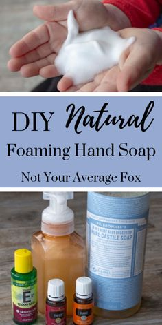 Want to kick the germs but stay natural without the antibacterial soap? This DIY Immune-Boost Foaming Hand Soap recipe couldn't be easier to make and naturally fights germs with essential oils! Doterra, Homemade Hand Soap, Diy Foam Hand Soap, Hand Soaps, Homemade Face Wash, Limpieza Natural, Essential Oils Soap, What Are Essential Oils, Young Living Essential Oils