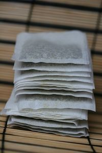 How to dye clothes with tea to give them an antique look. Use for tablecloth? Curtains?