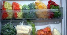 Aprenda a congelar os vegetais!!!  :)