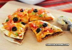 Mexican Pizza - Survival at Home