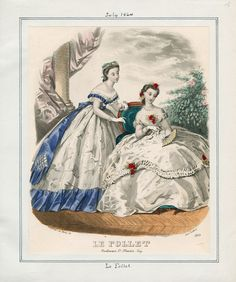 Casey Fashion Plates Detail | Los Angeles Public Library: Le Follet Date:  Friday, July 1, 1864