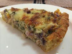 Liian hyvää: Tilli-tonnikala-cheddarpiirakka ja hääpäivän viettoa Lasagna, Food And Drink, Bread, Snacks, Baking, Breakfast, Ethnic Recipes, Quiches, Drinks