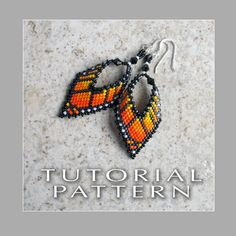 Beading Tutorial  Monarch Butterfly Leaf by FrancescasFancy, $8.50