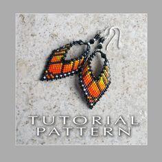 Beading Tutorial  Monarch Butterfly Leaf by FrancescasFancy, $8.50