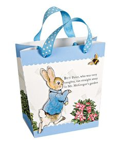 Look what I found on #zulily! Small Peter Rabbit Gift Bag - Set of Two by Peter Rabbit #zulilyfinds