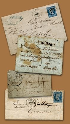 Lovely old letters
