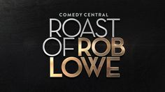 """Check out this @Behance project: """"Roast of Rob Lowe - Branding & Animation"""" https://www.behance.net/gallery/41839389/Roast-of-Rob-Lowe-Branding-Animation"""