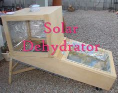 How To Build A Solar Food Dehydrator -- takes you to a video on how to build one.  This link takes you to an article with even more info and instructions ---> http://adfoc.us/13236224078685