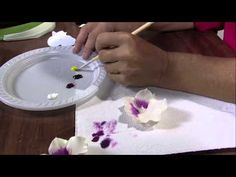 ▶ Mulher.com 26/04/2013 Alessandra Assi - Orquideas em biscuit Parte 2/2 - YouTube