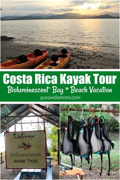 One of the best things to do in Costa Rica is a kayak tour. Our recent Costa Rica beach vacation took us on a bioluminescent bay tour that was an awesome way to experience Costa Rica with kids. Plan your next family vacation! Family Vacation Destinations, Vacation Trips, Costa Rica With Kids, Bioluminescent Bay, Caribbean Vacations, Beach Vacations, Kayak Tours, Costa Rica Travel, Family Travel