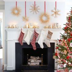 73 Brilliant Scandinavian Christmas decorating ideas! (image via Good Housekeeping)