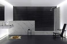 25 Marvelous Black And White Bathroom Ideas #luxury #bathrooms #stribling