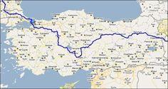 Cycling: through Turkey.