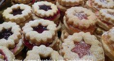 Linzerkarika | APRÓSÉF.HU - receptek képekkel Doughnut, Tart, Muffin, Drinks, Cooking, Breakfast, Desserts, Food, Nice