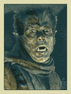 """Werewolf"" Art Print by Brian Ewing"