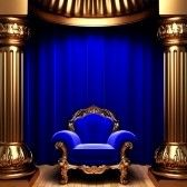 Picture of blue velvet curtains, gold columns and chair stock photo, images and stock photography. Wedding Background Images, Desktop Background Pictures, Green Screen Video Backgrounds, Best Photo Background, Studio Background Images, Green Screen Images, Love Wallpapers Romantic, Beautiful Flowers Wallpapers, Photography Studio Background