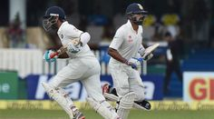 Test match : India Post 75/2 At Lunch On Day One –