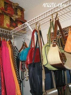 What to do with all of those purses?