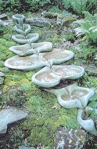 a lovely flow form fountain Garden Garden Project Idea Project Difficulty: Simple MaritimeVintage.com