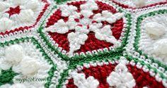 MyPicot | Christmas Crochet Motifs
