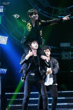 Jeon Jungkook and Kim Taehyung. #taekook is so real