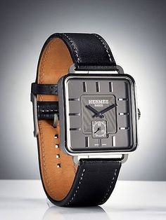 Best New Men's Watches - Esquire 2010 Watch Awards - Esquire...Titanium Carrè H watch ($16,225) by Hermès
